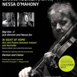 Lios na Nóg used my photo of Ciaran Tourish (Altan) for concert poster