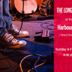 Photo and Graphic of the Longtails concert