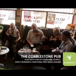 visitdublin.com banner with one of my photo of the Cobblestone pub