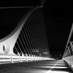 Samuel Beckett Bridge from the South