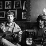 Diarmuid Glynn (guitar) and Brían Mac Gloinn (fiddle)