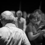 Dancers during the monthly céilí