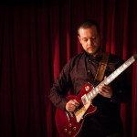 Alessandro Giusti on electric guitar