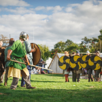 Battle reenactment from Fingal Living History Society